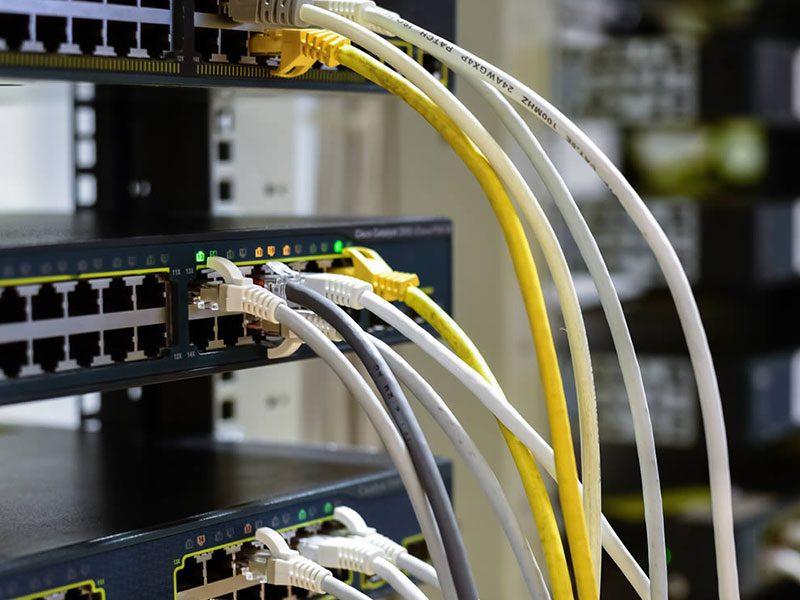 Brisbane Communications Contractors Rack