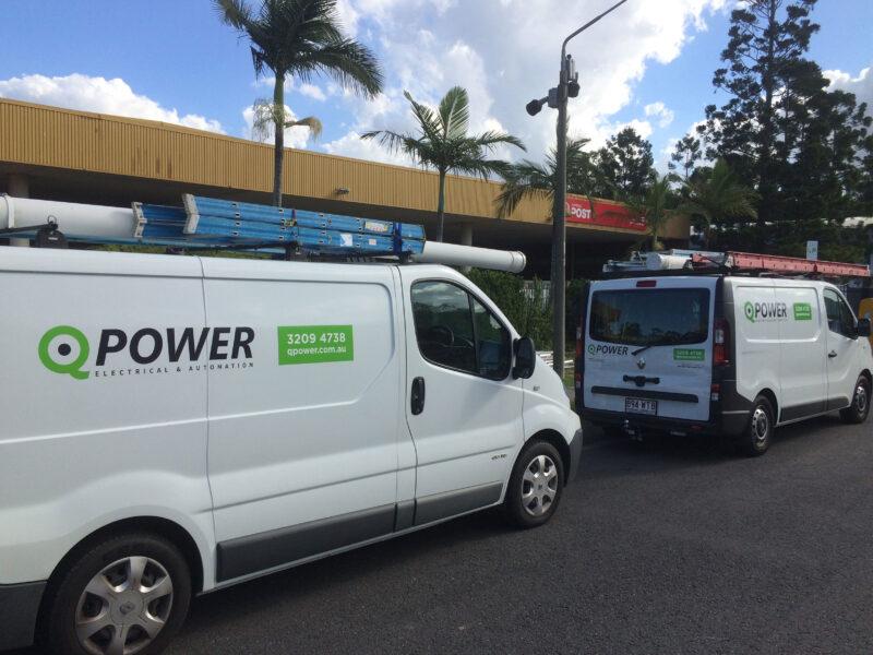 Brisbane Electrical Service Vans